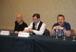 Gary McMahon on the Commonwealth Horror panel (photo courtesy of Deb Kuhn)