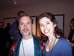 John Everson and Erin Galloway