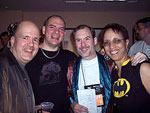Gerard Houarner, Adam Pepper, John Everson and Linda Addison